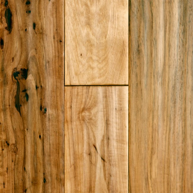 Virginia mill works 3 4 x 5 distressed hickory lumber for Virginia mill works flooring