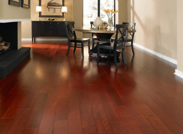"Casa de Colour Select 3/4""x4 3/4"" Taun Pometia Pinnata 1890 Stained Finish Solid"