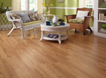 Dream Home 10mm Pad Rolling Falls Oak Laminate Lumber