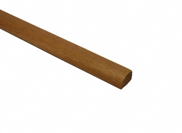 Prefinished Hickory Shoe Molding