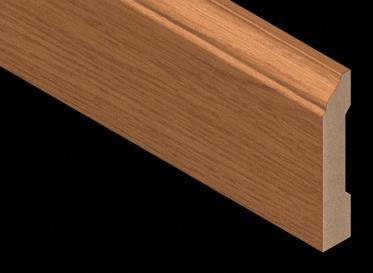 Ashford Select Red Oak Laminate Baseboard