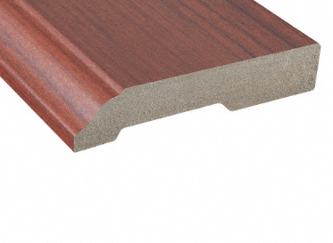 Angel Fire Cherry Laminate Baseboard
