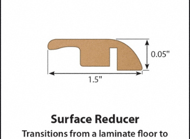 Coles Hill Chestnut Laminate Reducer
