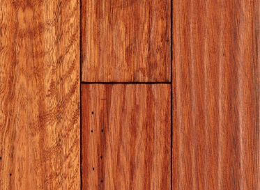 "Virginia Mill Works Rustic 3/4""x4"" Lyptus Hardwood Eucalyptus Urograndis 1050 Stained Finish Solid"