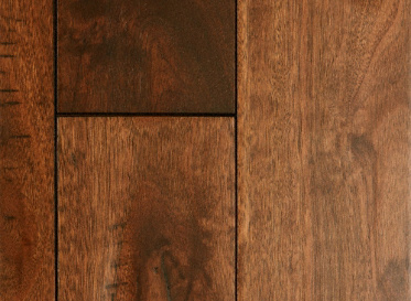 "Virginia Mill Works Rustic 3/4""x5"" Lyptus Hardwood Eucalyptus Urograndis 1050 Stained Finish Solid"