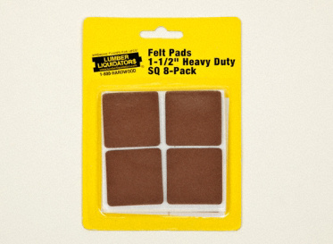"1-1/2"" Heavy Duty Felt Pads 8-Pack"