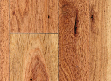 "Mayflower Rustic 3/4""x2 1/4"" Oak Quercus Rubra 1290 Clear Finish Solid"