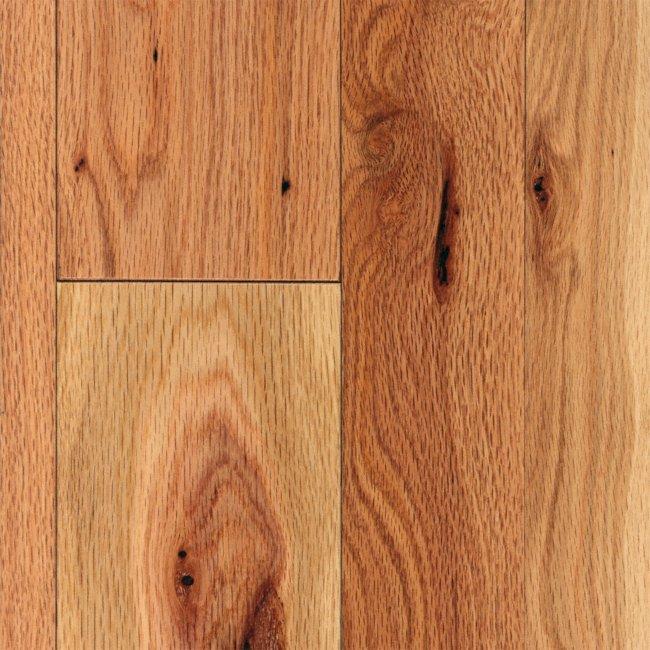 3 4 x 2 1 4 cottage natural red oak mayflower lumber for Bellawood natural red oak