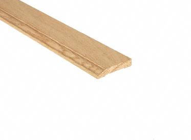 Unfinished Red Oak Baseboard