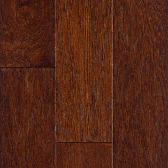 Sch n engineered 1 2 x 5 mocha hickory engineered for Crystal springs hickory laminate