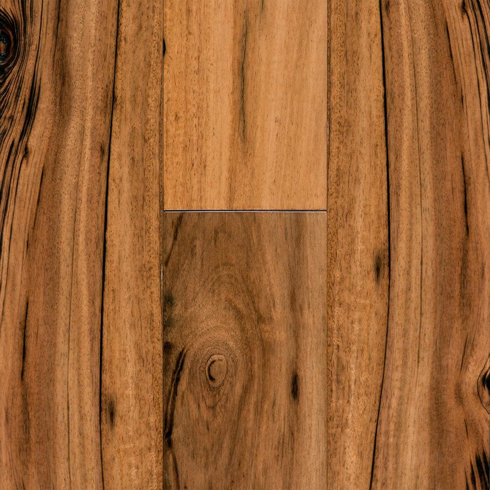 "Acacia Hardwood Flooring From Lumber Liquidators: 5/8"" X 4-1/4"" Natural Brazilian Koa - Rio Verde"