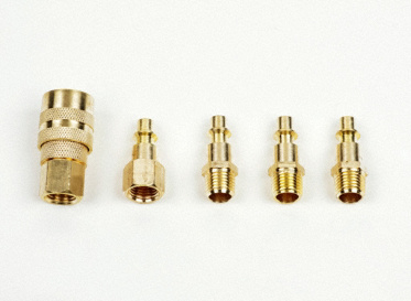 5-Piece Brass Coupler Kit