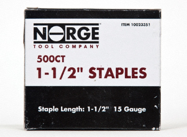 "1-1/2"" Staples 500-Count"