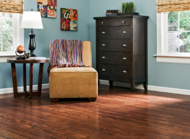 "Dream Home - St. James 15 mmx5"" Mahogany HDF/Laminate"