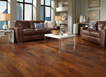Virginia Mill Works Engineered Natural Hickory Stained Finish Engineered