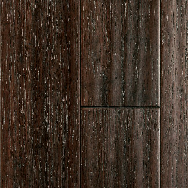 1 2 X 5 Weathered Chestnut Click Strand Bamboo Morning