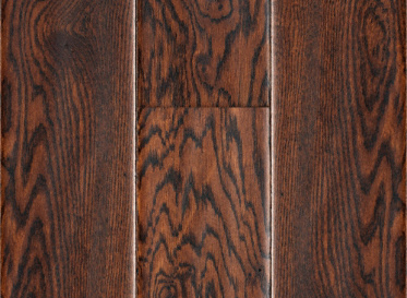 "Major Brand Natural 1/2""x5"" Stained Finish Engineered"