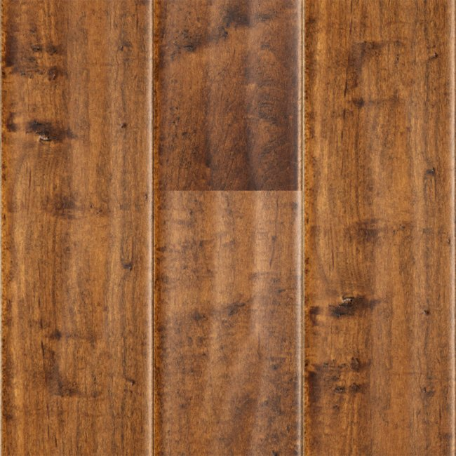 Major brand 1 2 x 5 cinnamon maple handscraped lumber for Siding liquidators