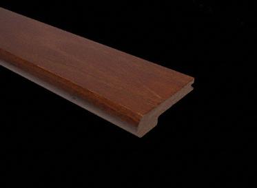 Prefinished Red Oak Mocha Stair Nose
