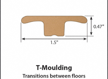 Mount Wilson Oak Laminate T-Molding