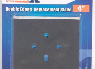 "Scraper Replacement Blade Double Edge 4"""