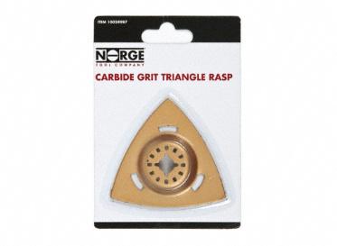 Carbide Grit Triangle Rasp
