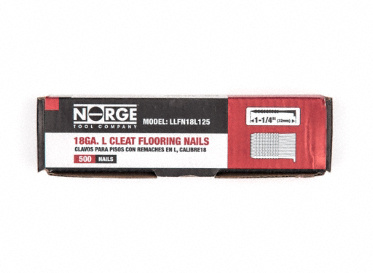 "1-1/4"" 18ga. Floor Cleats 500-Count"