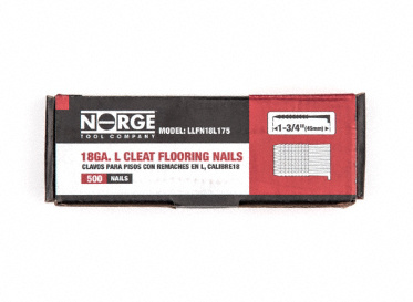 "1-3/4"" 18ga. Floor Cleats 500-Count"