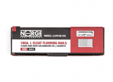 "1-1/2"" 18ga. Floor Cleats 500-Count"