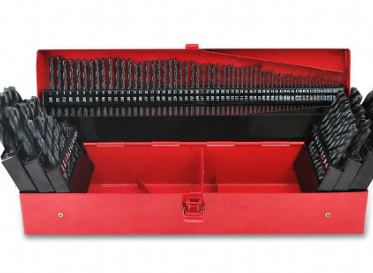 Black Oxide Drill Bit Set 115-Piece Set
