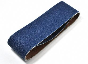 """3"""" x 21"""" Zirconia Sanding Belt 36 Grit 2-Piece"""
