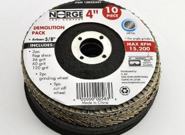 """4"""" Demolition Pack Metal Wheel"""