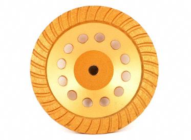 "Diamond Cup Wheel - Turbo 7"""