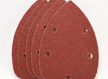 Palm Sanding Paper 5pc 60 Grit