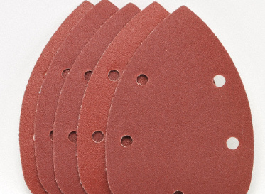 Palm Sanding Paper 5pc 120 Grit