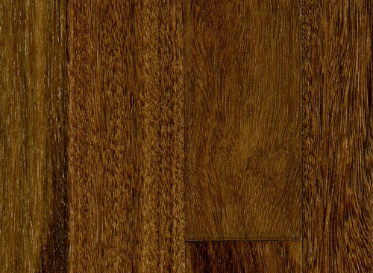 "BELLAWOOD Engineered Select 1/2""x5"" Brazilian Chestnut Bowdichia Nitida 3540 Clear Finish Solid"
