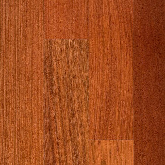 Rio verde 3 4 x 2 1 4 brazilian cherry shorts lumber for Bellawood prefinished hardwood flooring