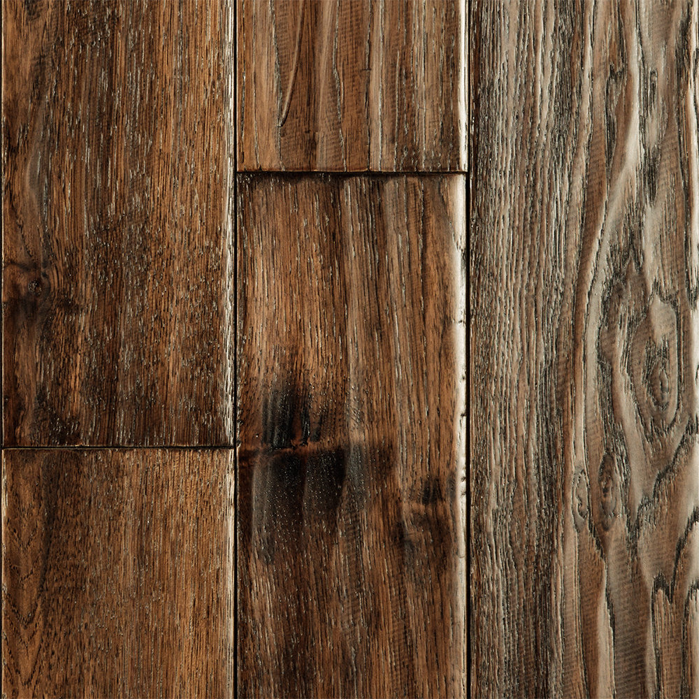3 4 x 5 bell county hickory handscraped virginia mill for Belle flooring