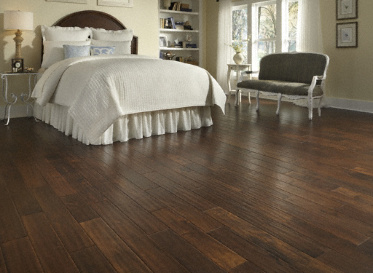 "Virginia Mill Works Engineered Natural 1/2""x5"" Golden Teak Acacia Confusa Stained Finish Solid"