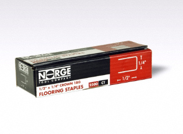 "1/2"" 18ga. Staples 2500-Count"