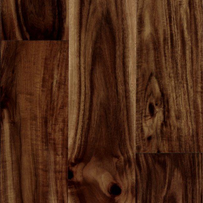 "Acacia Hardwood Flooring Stability: 1/2"" X 4-3/4"" Acacia Quick Click"