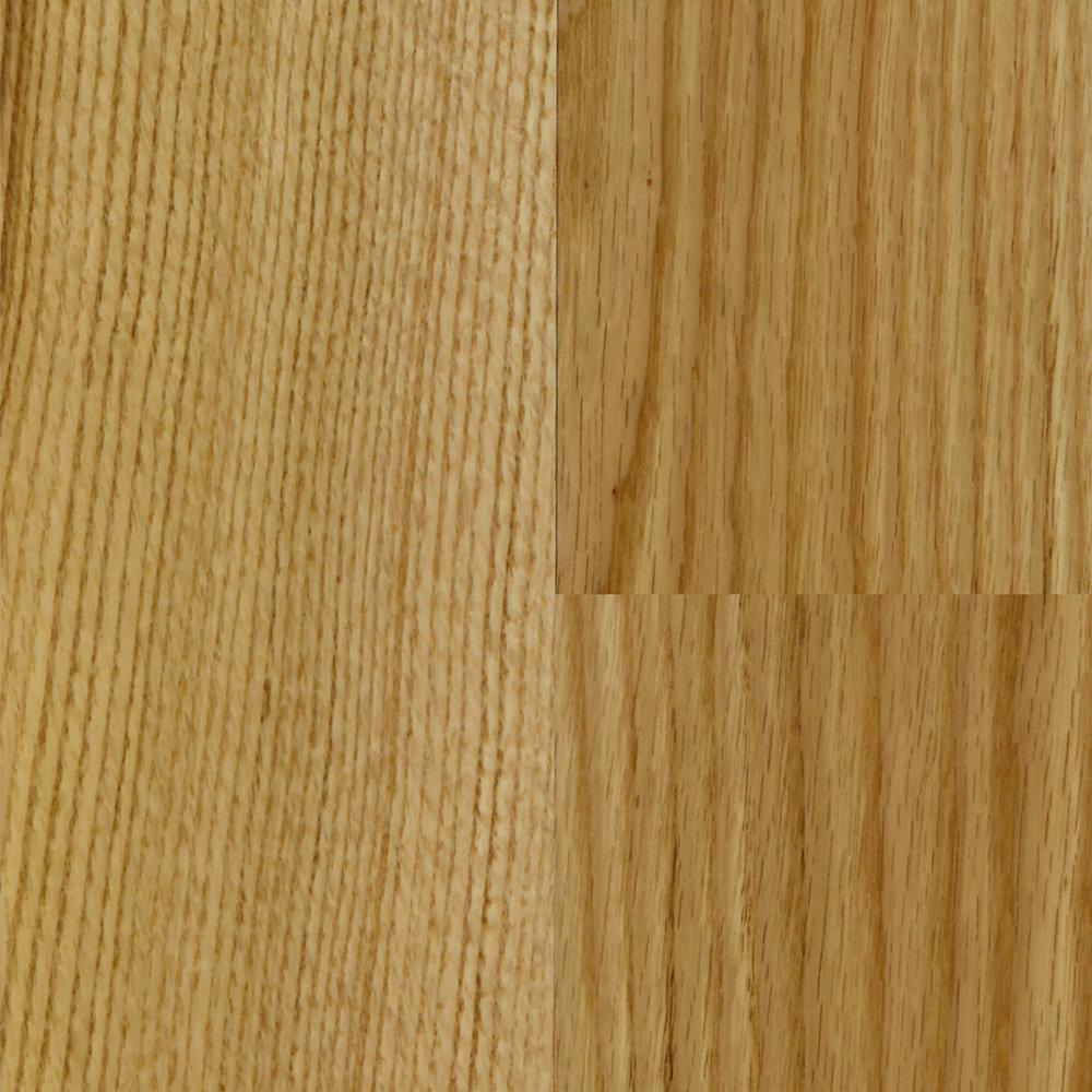 3 8 x 5 engineered natural red oak mayflower lumber for Bellawood natural red oak