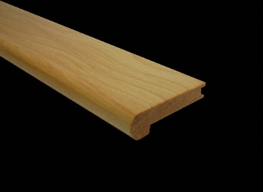 "1/2"" x 2-3/4"" x 78"" Hickory Stair Nose"
