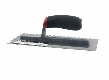 "1/4"" x 1/4"" x 1/4"" Square-Notch Trowel"
