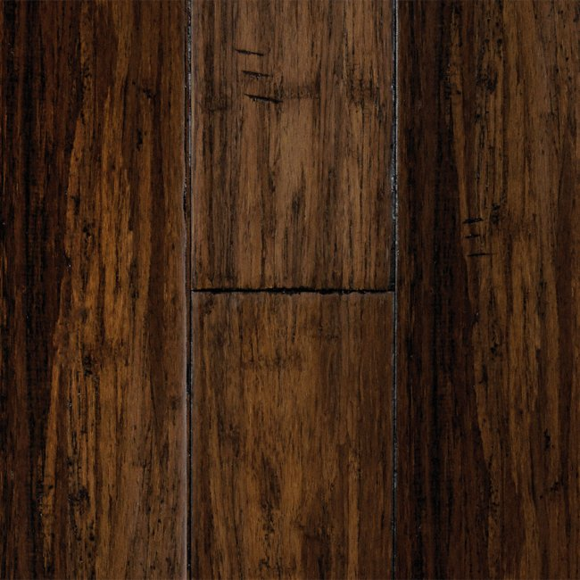 Morning star xd 1 2 x 5 antique hazel click strand for Morning star xd bamboo flooring