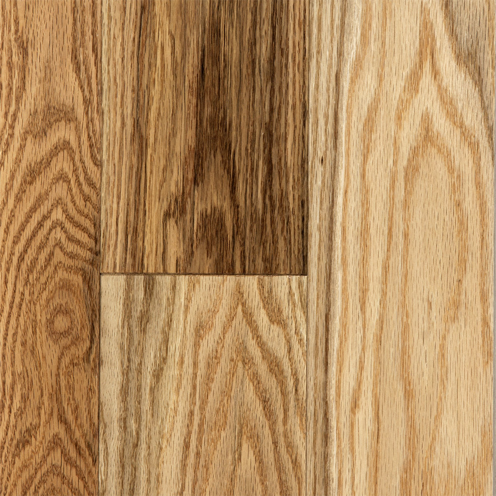 3 4 x 3 1 4 matte rustic red oak bellawood lumber for Rustic red oak flooring