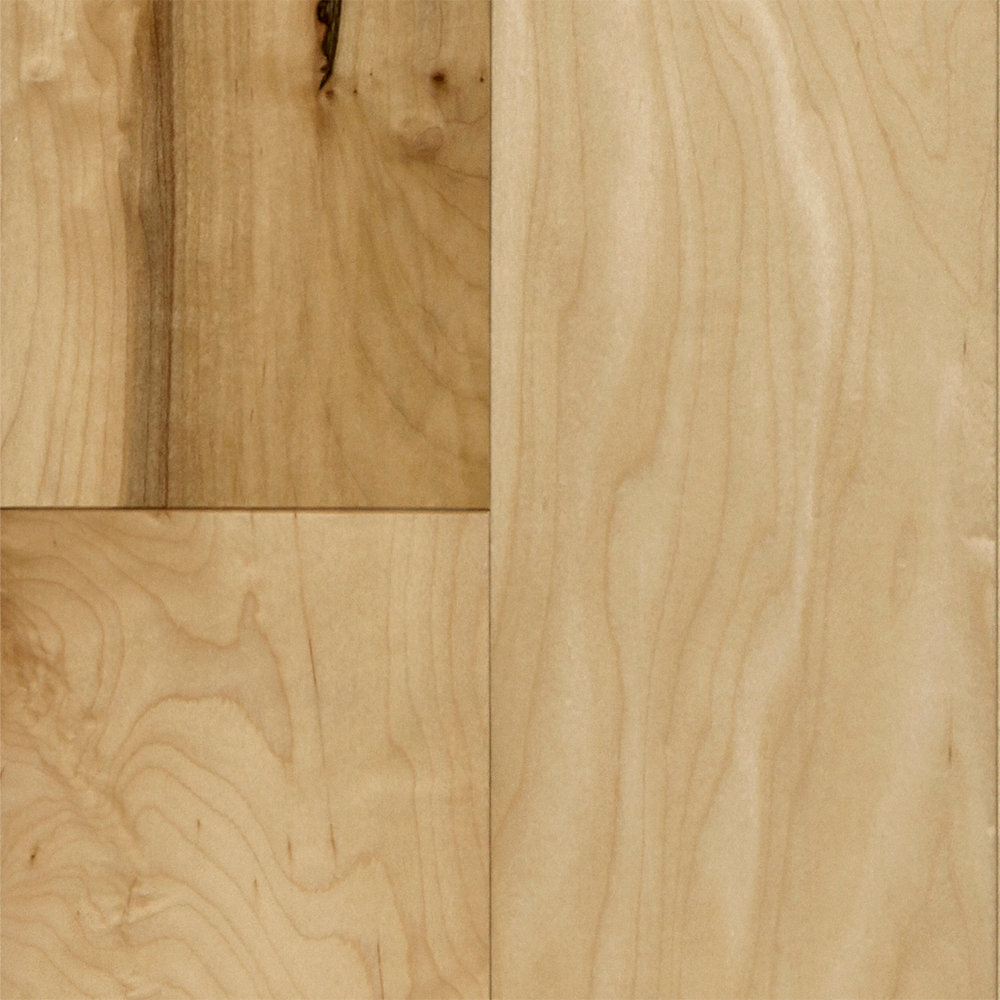 3 8 x 5 natural maple engineered mayflower engineered for Hardwood floors of lancaster