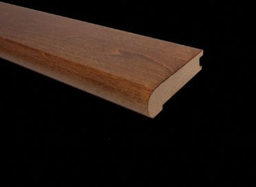 """3/4"""" x 3-1/2"""" x 78"""" Molasses Maple Stair Nose"""