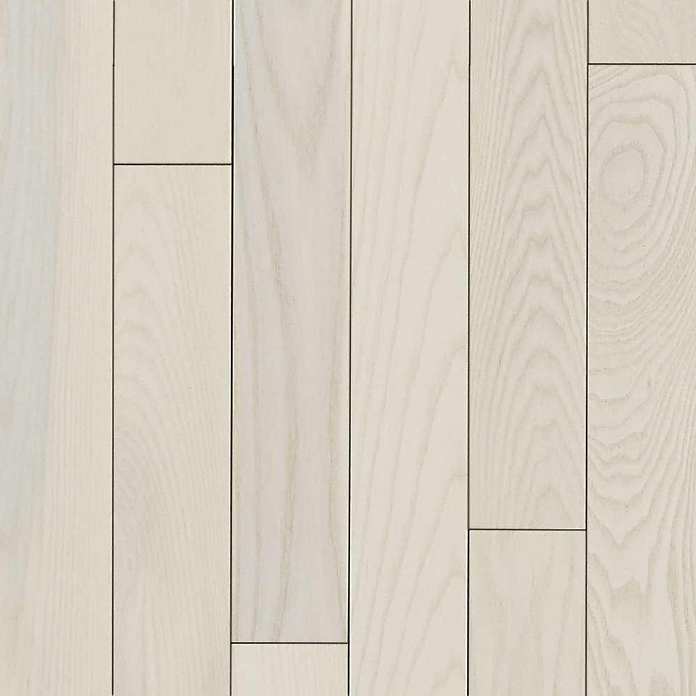 3 4 x 5 matte carriage house white ash bellawood for Bellawood natural ash