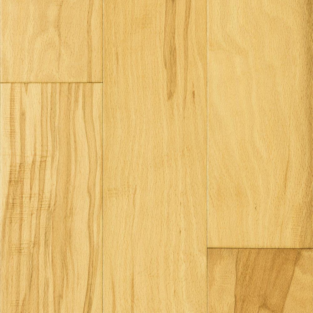 3 8 x 5 natural beech mayflower engineered lumber for Hardwood floor 5 16 vs 3 4